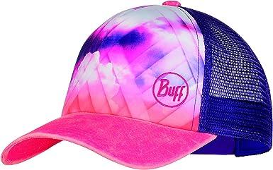 Buff Ray Gorra Trucker, Mujer, Rose Pink, Talla única: Amazon.es ...