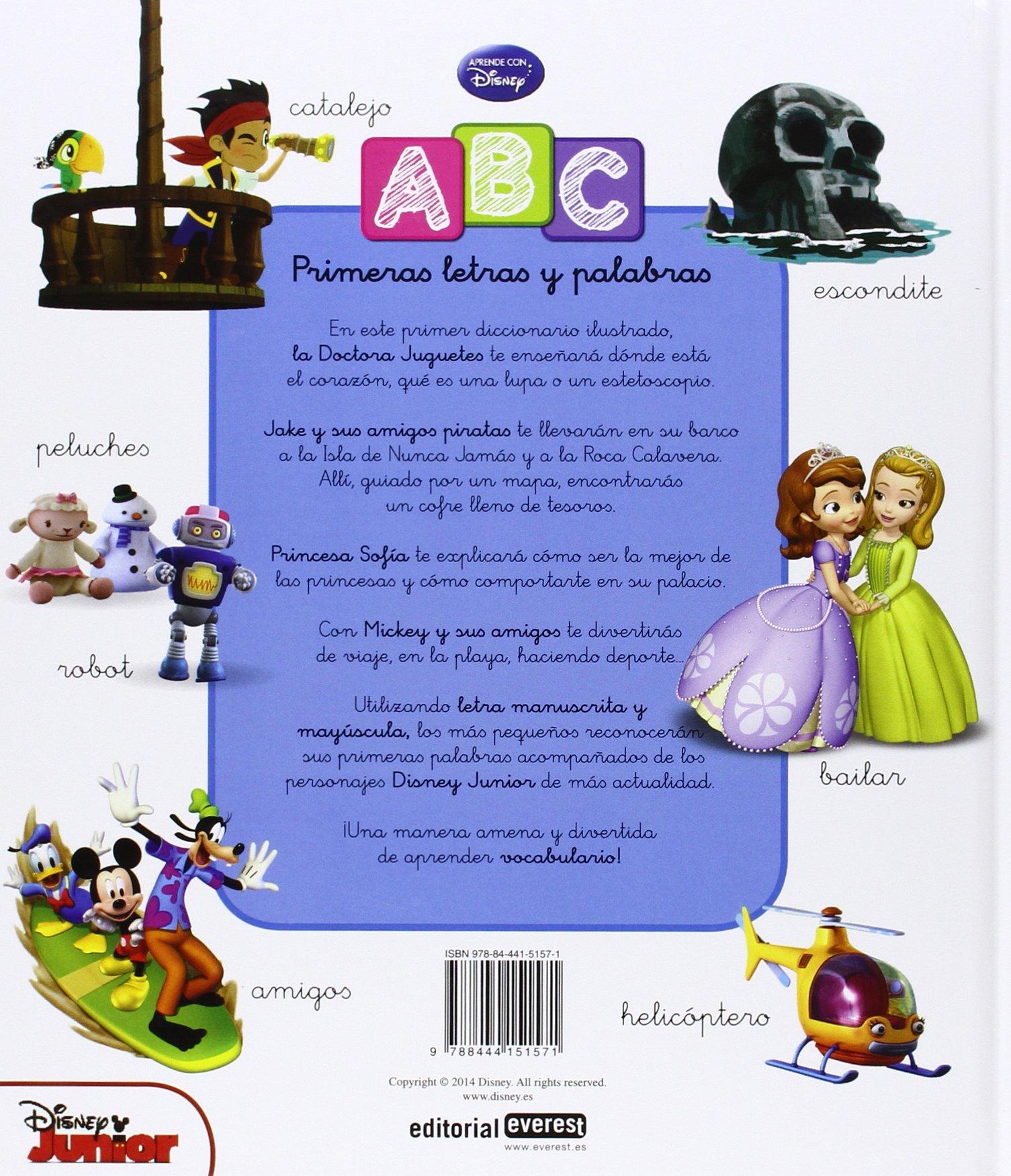 ABC Disney. Mis primeras letras y palabras: EQUIPO EVEREST: 9788444151571: Amazon.com: Books