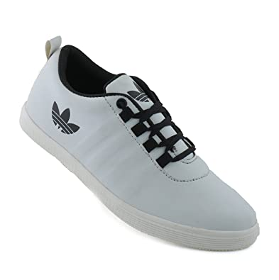 e4a66a0d17bdd STRINGS Men s White Casual Shoe  Buy Online at Low Prices in India ...