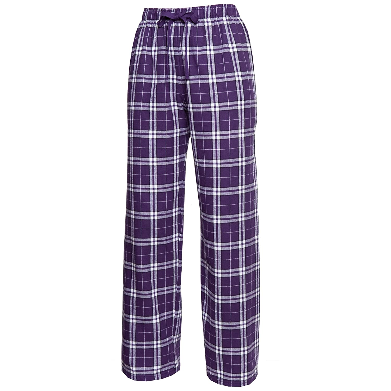 Boxercraft Plaid 100/% Cotton Flannel Pant F20 Purple//White M YF20