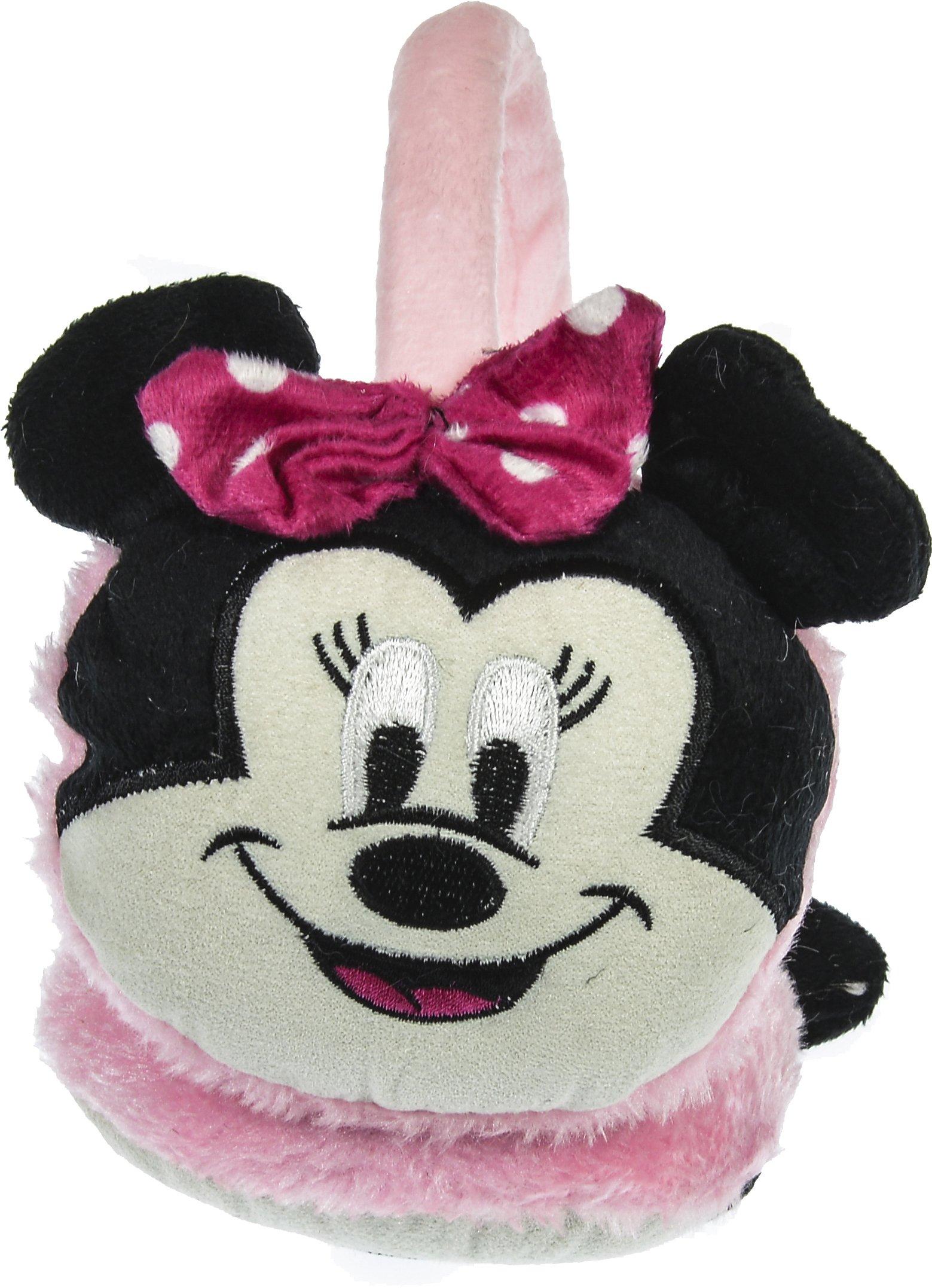 Hand By Hand Aprileo Girls Animal Earmuff Ear Warmer Faux Fur Mickey Owl Penguin [Minnie.](One Size)