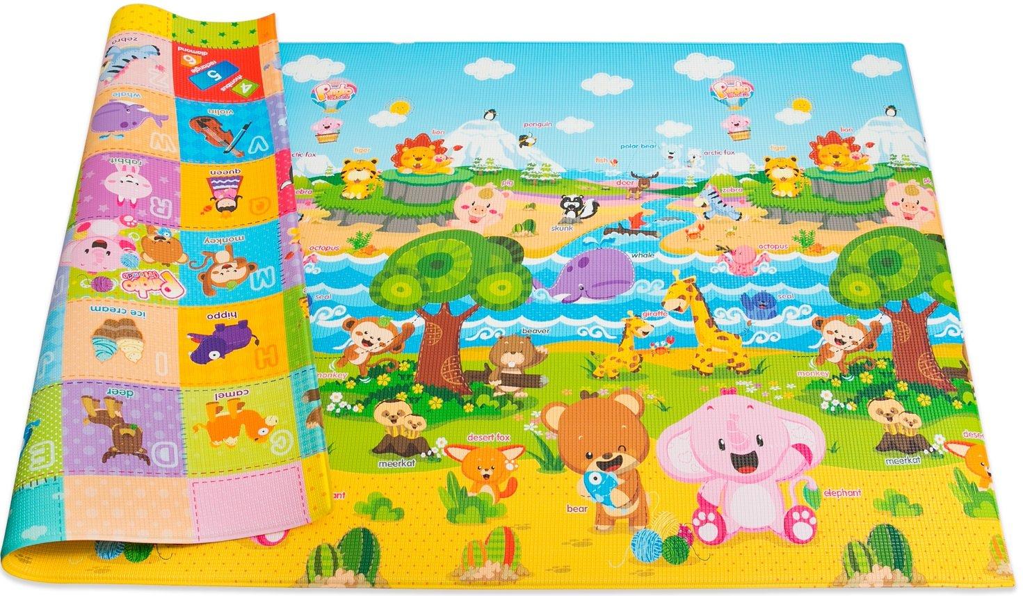 Baby Care Play Mat (Medium, Pingko Friends)