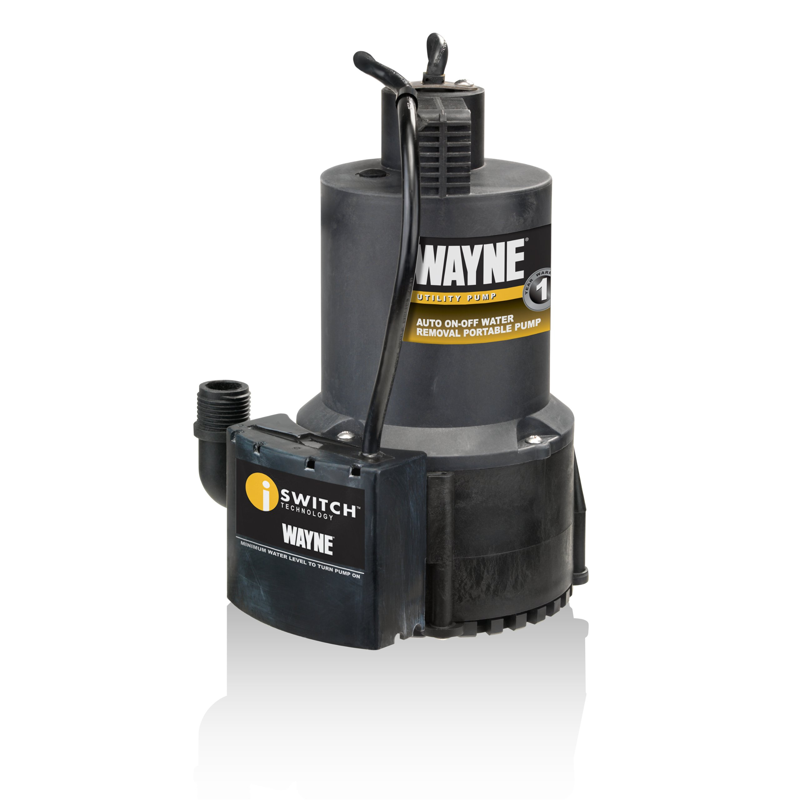Wayne 57729-WYN1 EEAUP250 1/4 HP Automatic ON/OFF Electric Water Removal Pump by Wayne