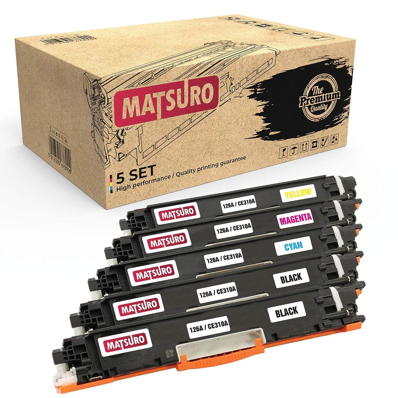 Matsuro Original | Compatible Cartucho de Toner Reemplazo para HP ...