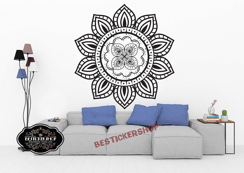 Amazon.com: Mandala Shaman Wall decal Window Decal Sticker ...