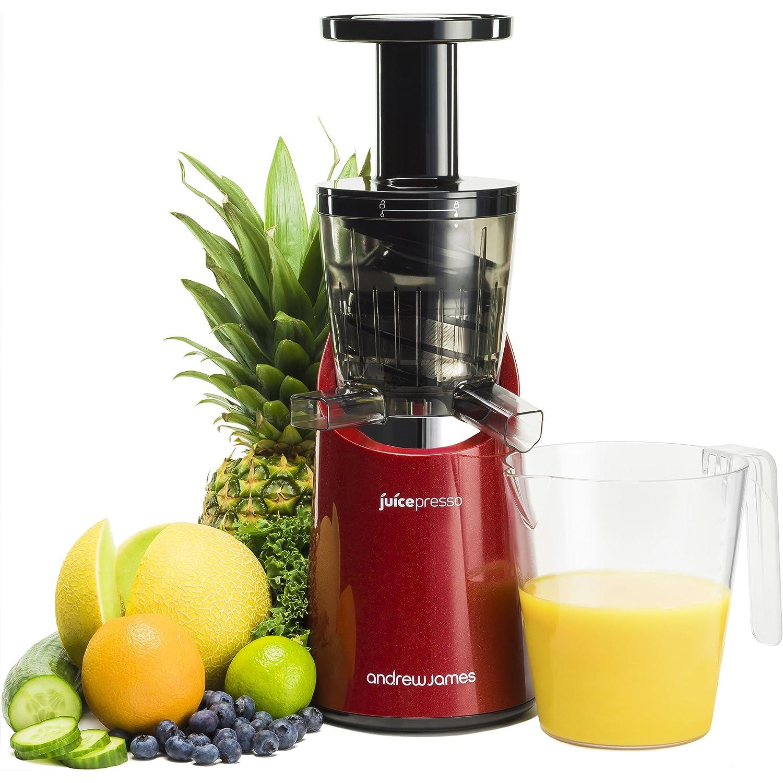 Andrew James - Juicepresso - Exprimidor/licuadora en rojo - Precio ...