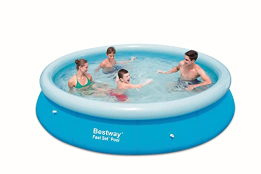 Bestway Fast Set - Piscina redonda, 366 x 76 cm: Amazon.es: Hogar