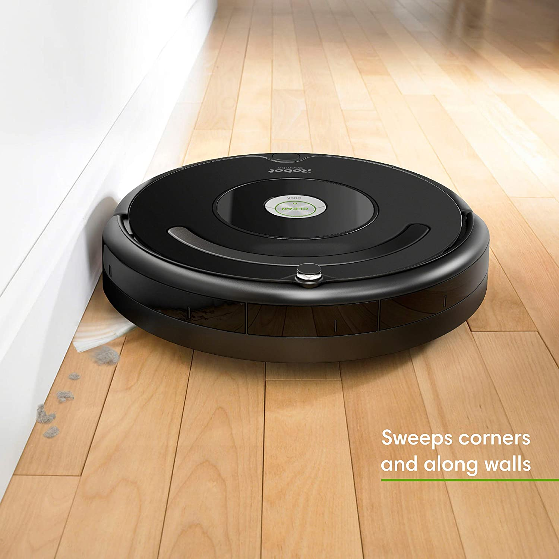 4. iRobot Roomba 675 Robot Vacuum- Best Lightweight Vacuums For Elderly