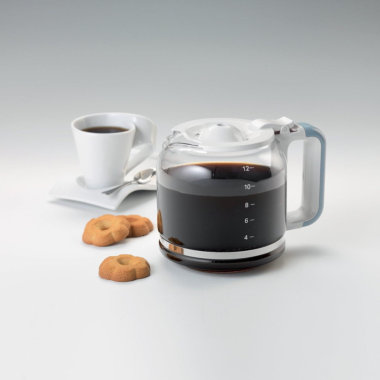 Amazon.de: Ariete 1342BL 12-Tassen-Kaffeemaschine Vintage, 2000 W, blau
