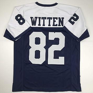 big sale c0766 011de Unsigned Jason Witten Dallas Thanksgiving Day Custom Stitched Football  Jersey Size Men's XL New No Brands/Logos