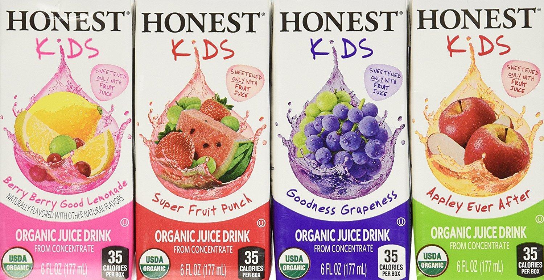 Honest Kids Certificados Quencher de Frutas Orgánicas ...