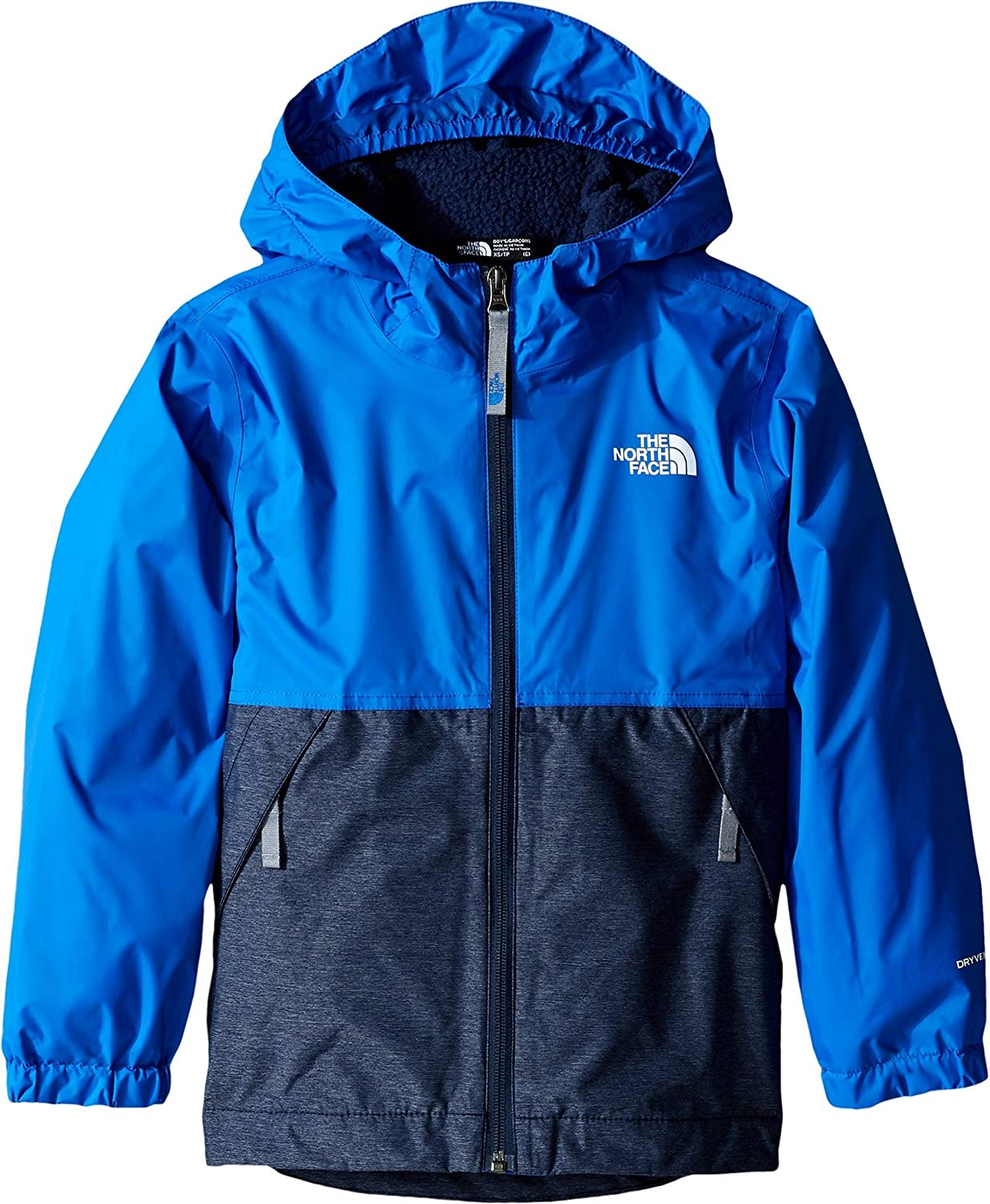 3830ec10a The North Face Warm Storm Jacket Boys' Jake Blue Small: Amazon.ca ...