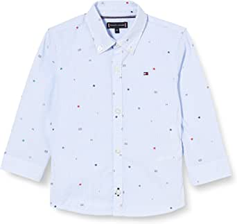 Tommy Hilfiger Tommy AOP Shirt L/S Camisa para Niños
