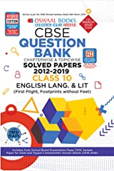 Oswaal CBSE Question Bank Class 10 English Language & Literature Book Chapterwise & Topicwise Includes Objective Types & MCQ's (For March 2020 Exam) Paperback
