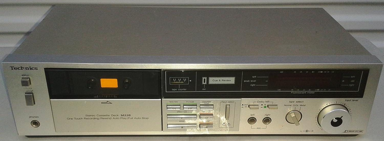 Amazon.com: Technics rs-m226 suave One Touch Cassette ...