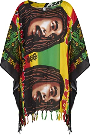 Camisa de cuello redondo de Bob Marley, estilo africano ...