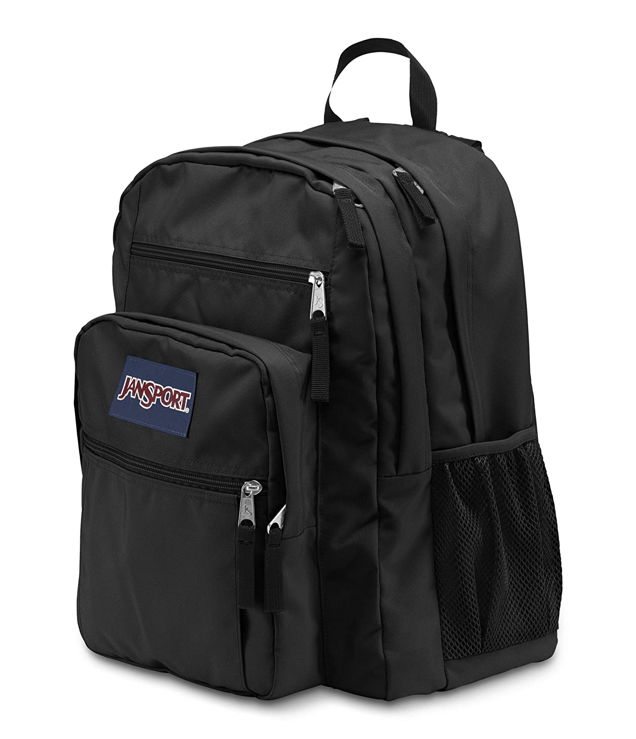 fb840280ecd6 Amazon.com  JanSport Big Student Backpack - Black - Oversized  JanSport   Clothing