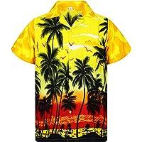 Original King Kameha | Funky Camisa Hawaiana | Señores | XS - 6XL | Manga Corta | Bolsillo Delantero | Impresión de…