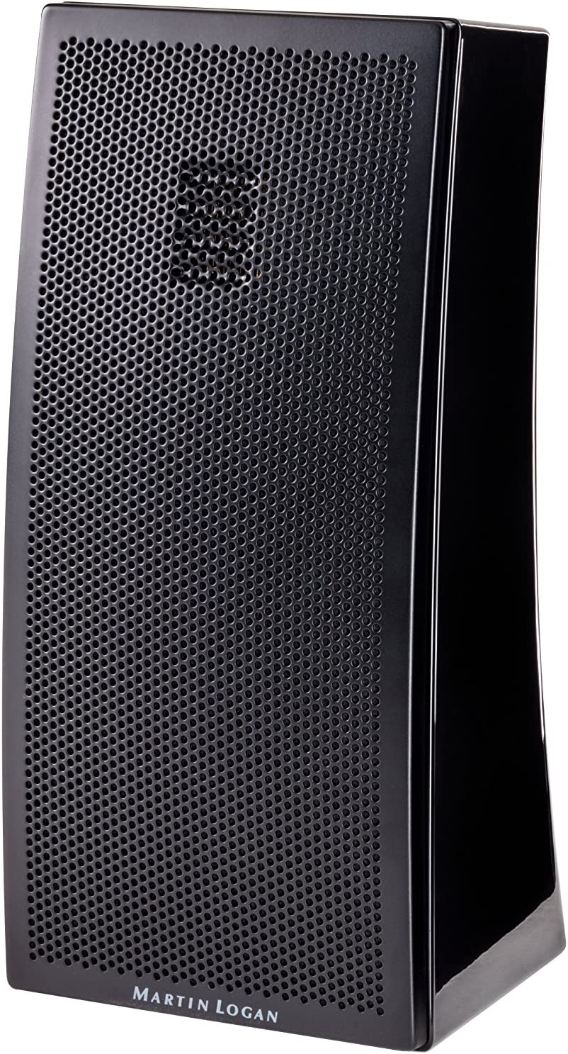 MartinLogan Motion 2i Folded Tweeter Bookshelf Speaker (±3dB, Gloss Black)