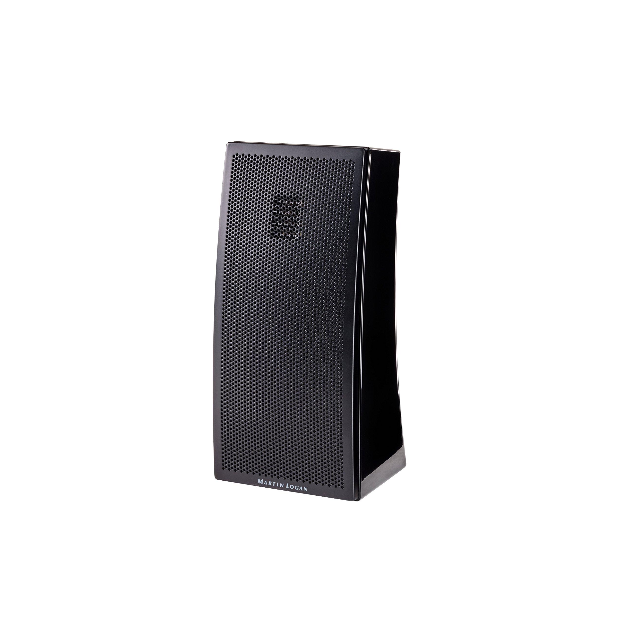 MartinLogan Motion 2i Folded Tweeter Bookshelf Speaker (±3dB, Gloss Black)