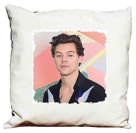 Cojín con logotipo de Harry Styles.: Amazon.es: Hogar