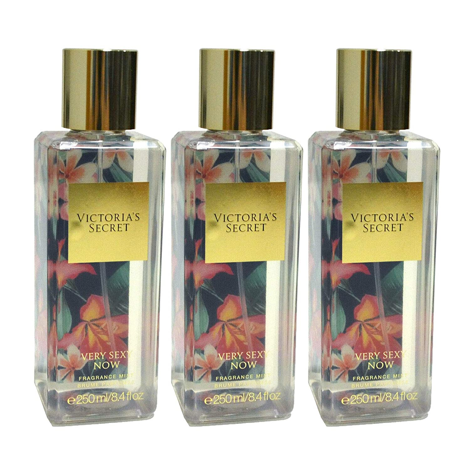 Victoria's Secret Fragrance Mist Lot of 3 (Very Sexy Now)
