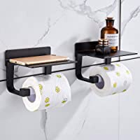 Hoomtaook toiletrolhouder zonder boren toiletrolhouder zelfklevende toiletrolhouder zonder boorruimte aluminium, matte…