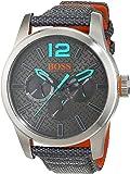 Hugo Boss Orange 1513379 Montre pour homme à quartz, plusieurs sous-cadrans et bracelet en nylon
