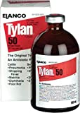 ELANCO TYLAN 50 INJECTION FOR CATTLE AND SWINE - 100 MILLILITER