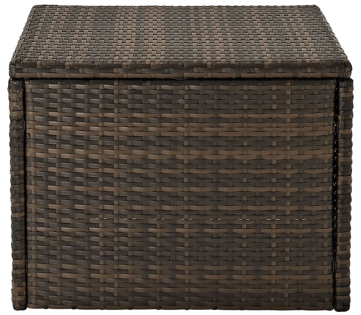 Crosley Furniture CO7202-BR Palm Harbor Outdoor Wicker Coffee Sectional Table, Brown