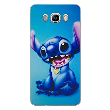 I-CHOOSE LIMITED Lilo y Stitch Funda/Carcasa del Teléfono para Samsung Galaxy J5 2015 / Gel/TPU / Stitch