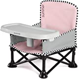 Summer Pop 'n Sit SE Booster Chair, Sweet Life Edition, Bubble Gum Color – Booster Seat for Indoor/Outdoor Use – Fast…