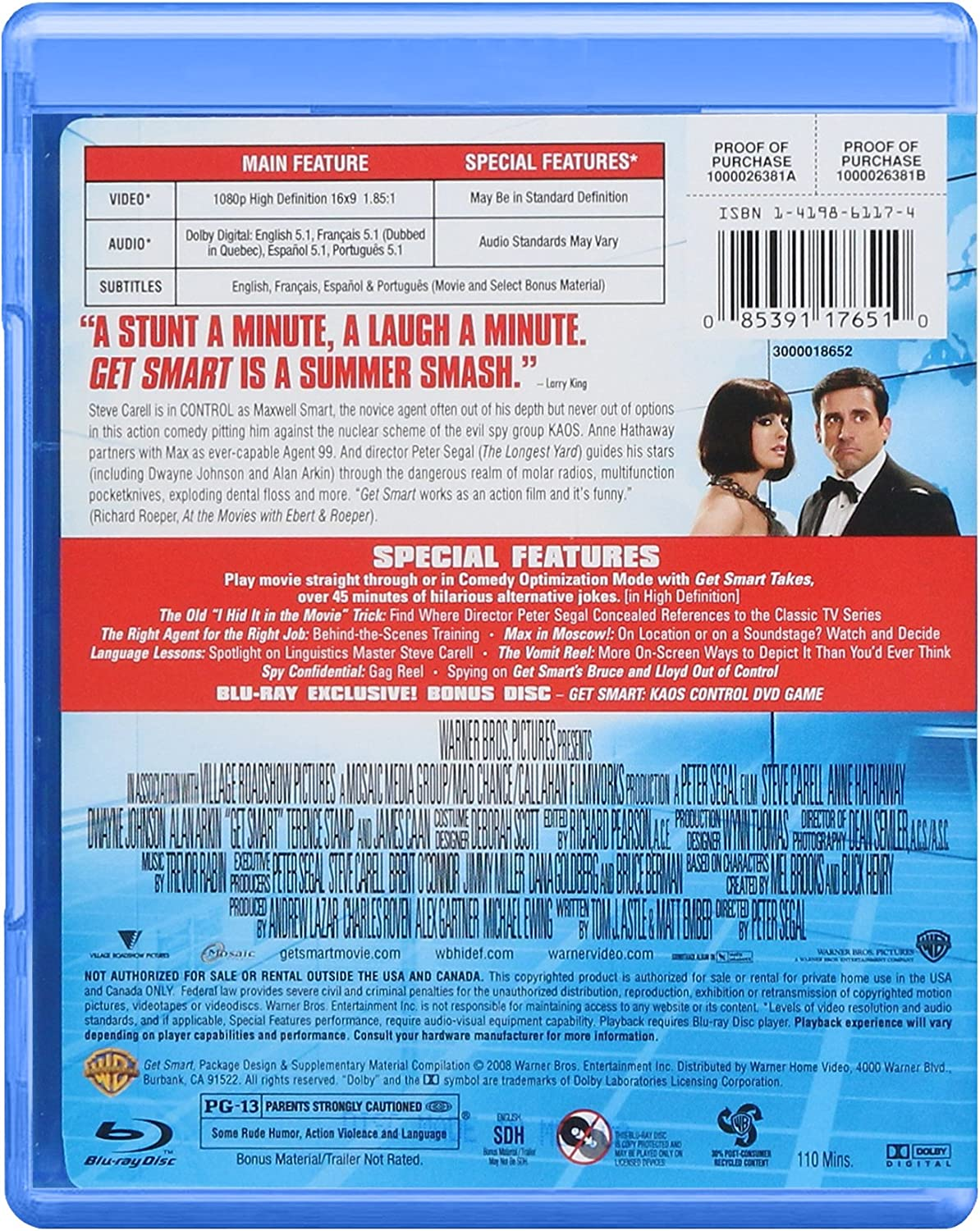 GET SMART: Amazon.co.uk: DVD & Blu-ray