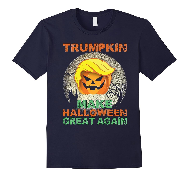 Trumpkin Make Halloween Great Again Hallowen T-Shirts-BN