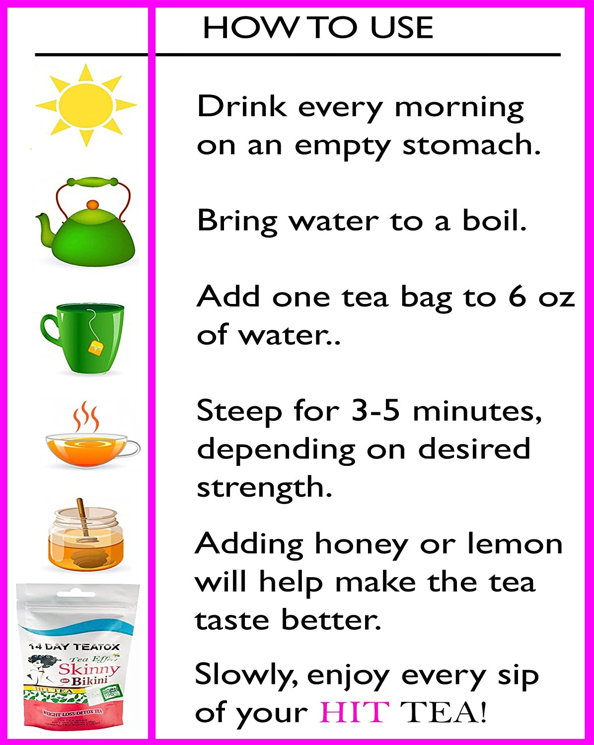How to get thin in one day