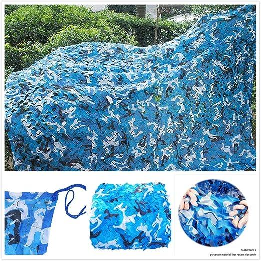Toldos de Jardín Refugios para Eventos Pérgola Sombra del Ejército Red de Camuflaje Woodenland Military para Niños Edificio Acampar Balcón Privacidad Protección Dormitorio Decoración 2x3m 5x3m Azul: Amazon.es: Hogar