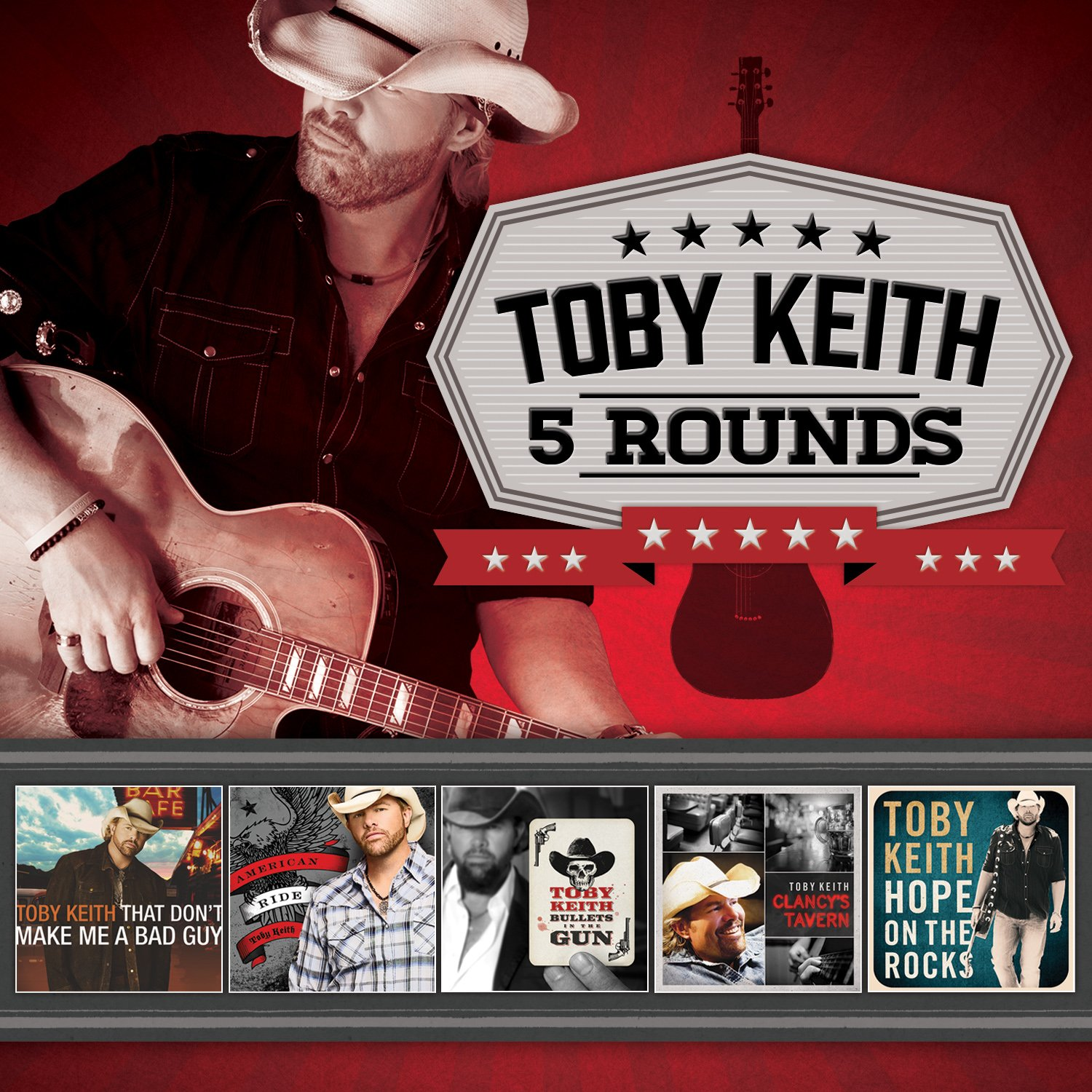 CD : Toby Keith - 5 Rounds (5 Disc)