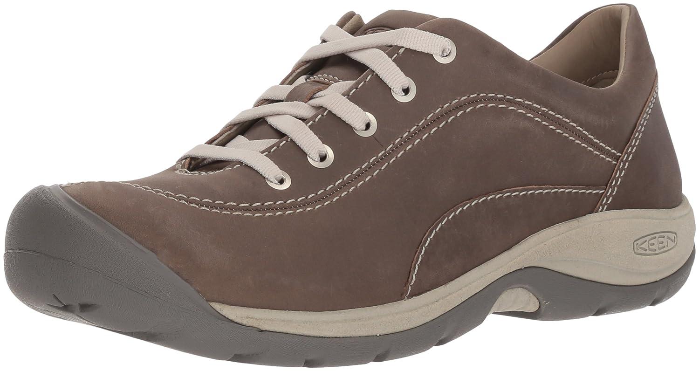 KEEN Women's Presidio II-W Hiking Shoe B071YFSRC3 12 B(M) US|Bleacher/Vapor