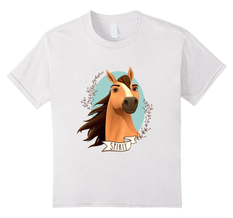 Kids DreamWorks Spirit Riding Free   Spirit T Shirt-Teehay