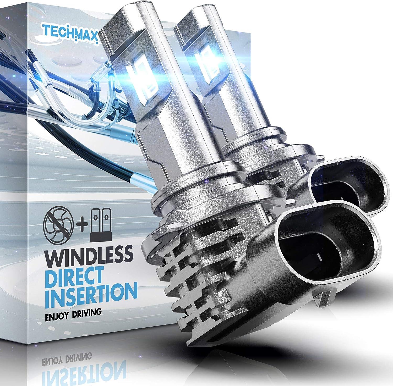 TECHMAX 9005 LED Headlight Bulbs