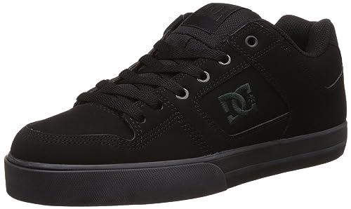 DC Pure Se Skateboard Zapatos del Hombre, Color Negro, Talla M