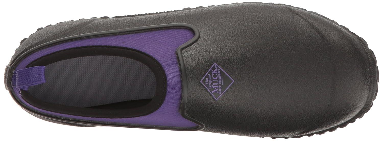 Muck Boot Women's Muckster 2 Low Rain B01B6KD1NU 7 B(M) US|Black/Purple