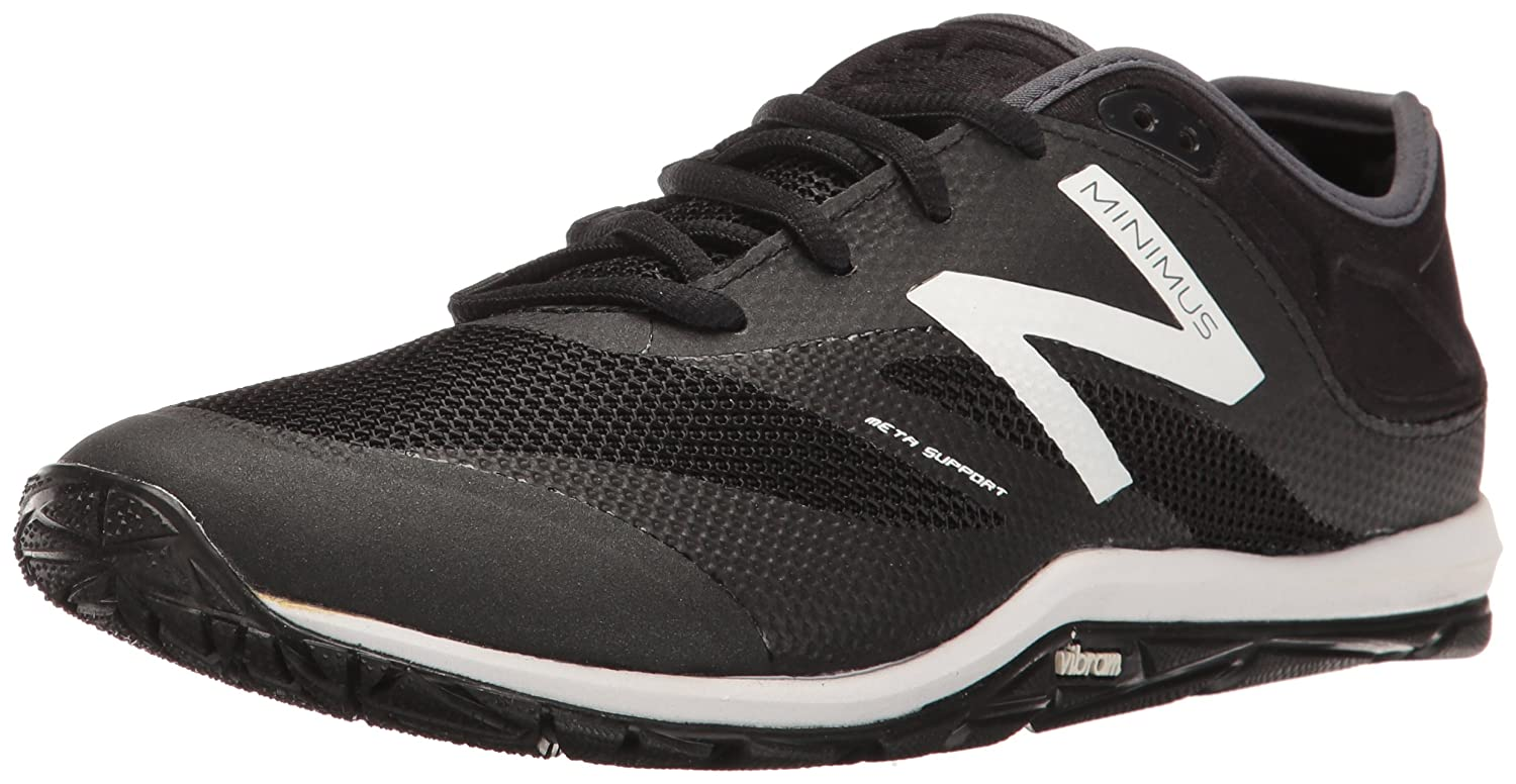 New Balance Women's WX20v6 Cross Trainer B01FSIL3TK 11 B(M) US|Black/White/Thunder