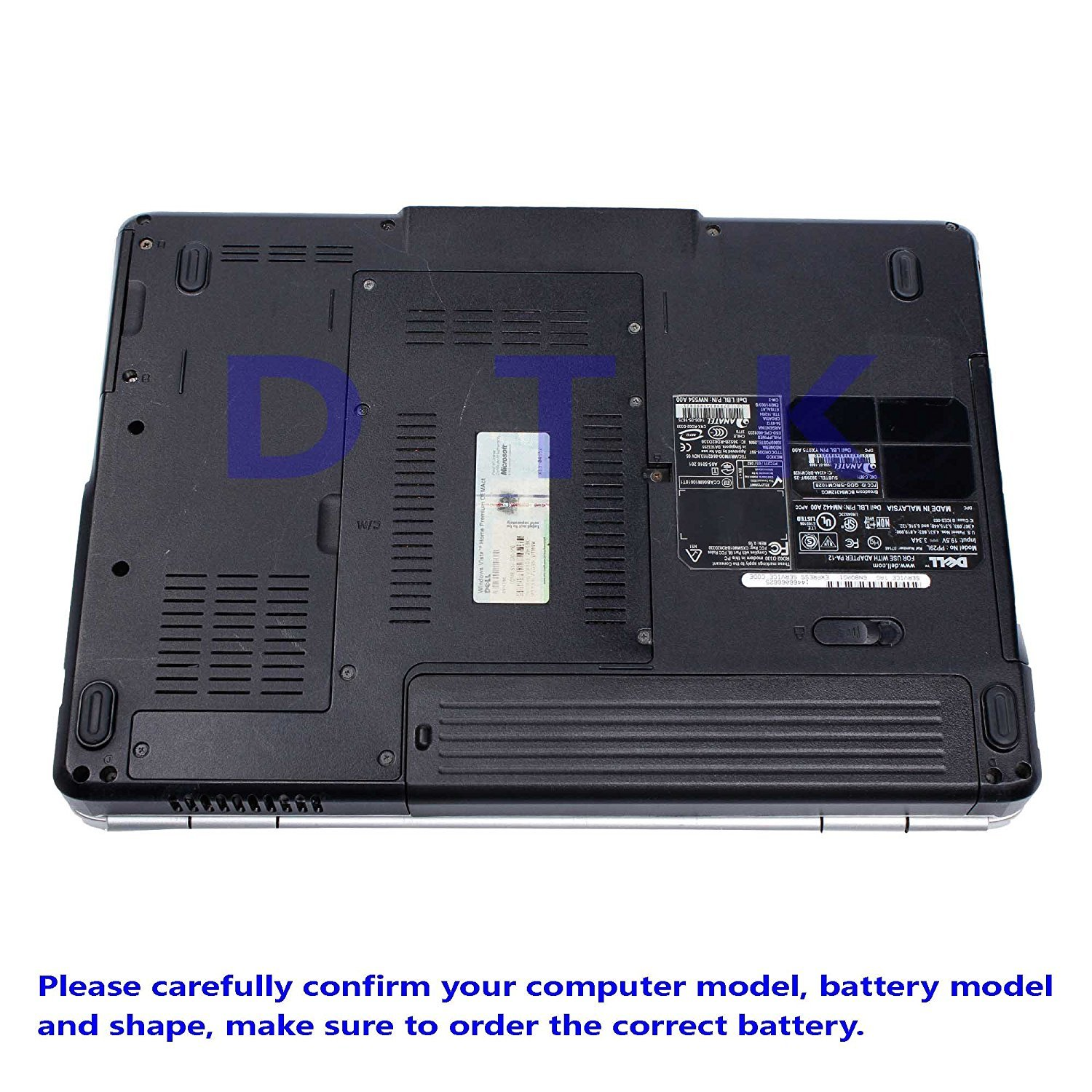 DTK® Performance Laptop Battery for DELL Inspiron 1525 1526 1545 1546 1440  1750 VOSTRO 500 K450N - 12 Months Warranty [ 6-cell 11.1V 4400mah ] Notebook  ...