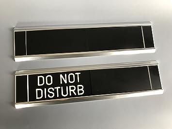sliding door signs entry control do not disturb amazon co uk