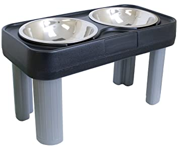 Pet Supplies  OurPets Big Dog Feeder 16 inch  Raised Pet Bowls