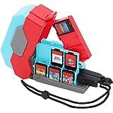 Nintendo Switch専用カードケース+Joy-Conストラップ収納 (Chief Triressa)ニンテンドースイッチ用ゲームカードポケット