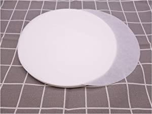 8 Inch Round Parchment Paper 200 Counts Precut Parchment Rounds Baking Paper Liners for Oven, Air Fryer, Pans
