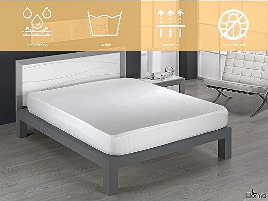 Dormio - Protector de colchón, impermeable y transpirable. 100 ...