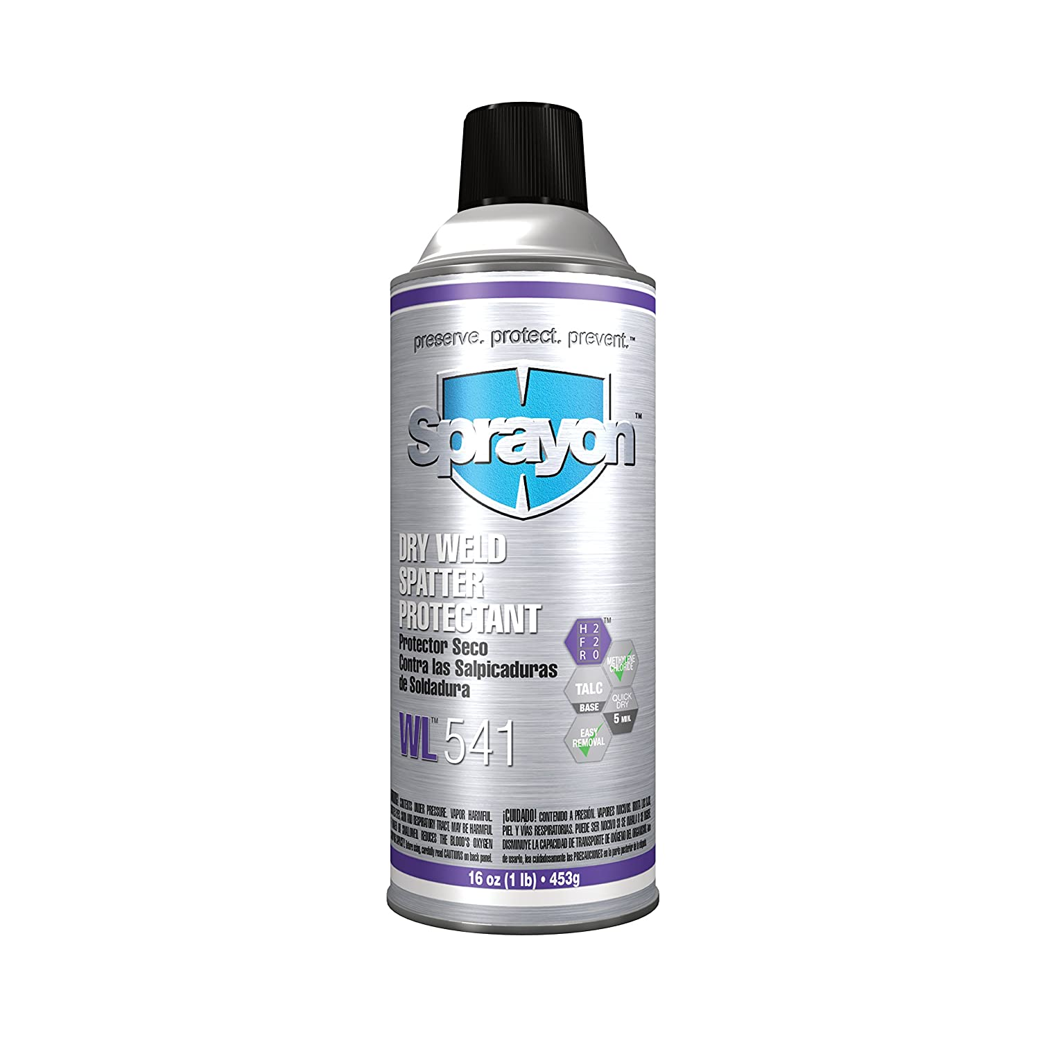 Sprayon S00541000 WL541 Dry Weld Spatter Protectant (with Methylene ...